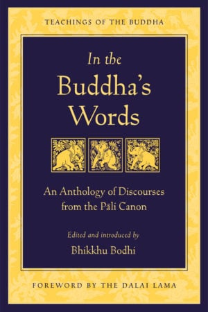 In the Buddha's Words: An Anthology of Discourses from the Pali Canon by Bhikkhu Bodhi