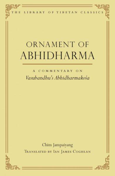 Ornament of Abhidharma – Print