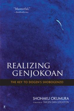 Realizing Genjōkōan