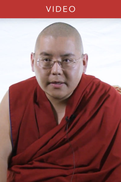 H. E. the 7th Ling Rinpoche on Respect