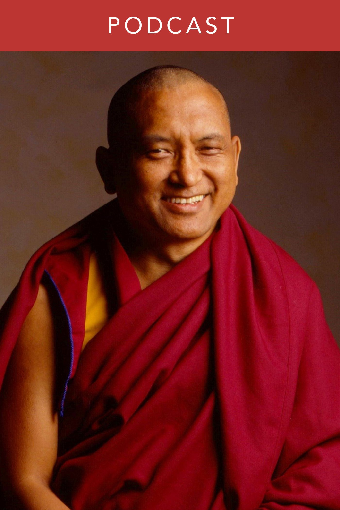 head shot of Lama Zopa Rinpoche