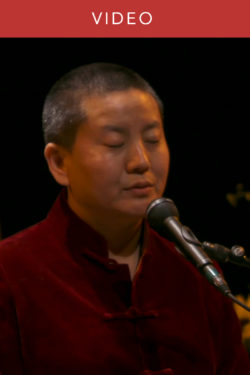 Ani Choying Drolma sings the Mantra of Guru Rinpoche