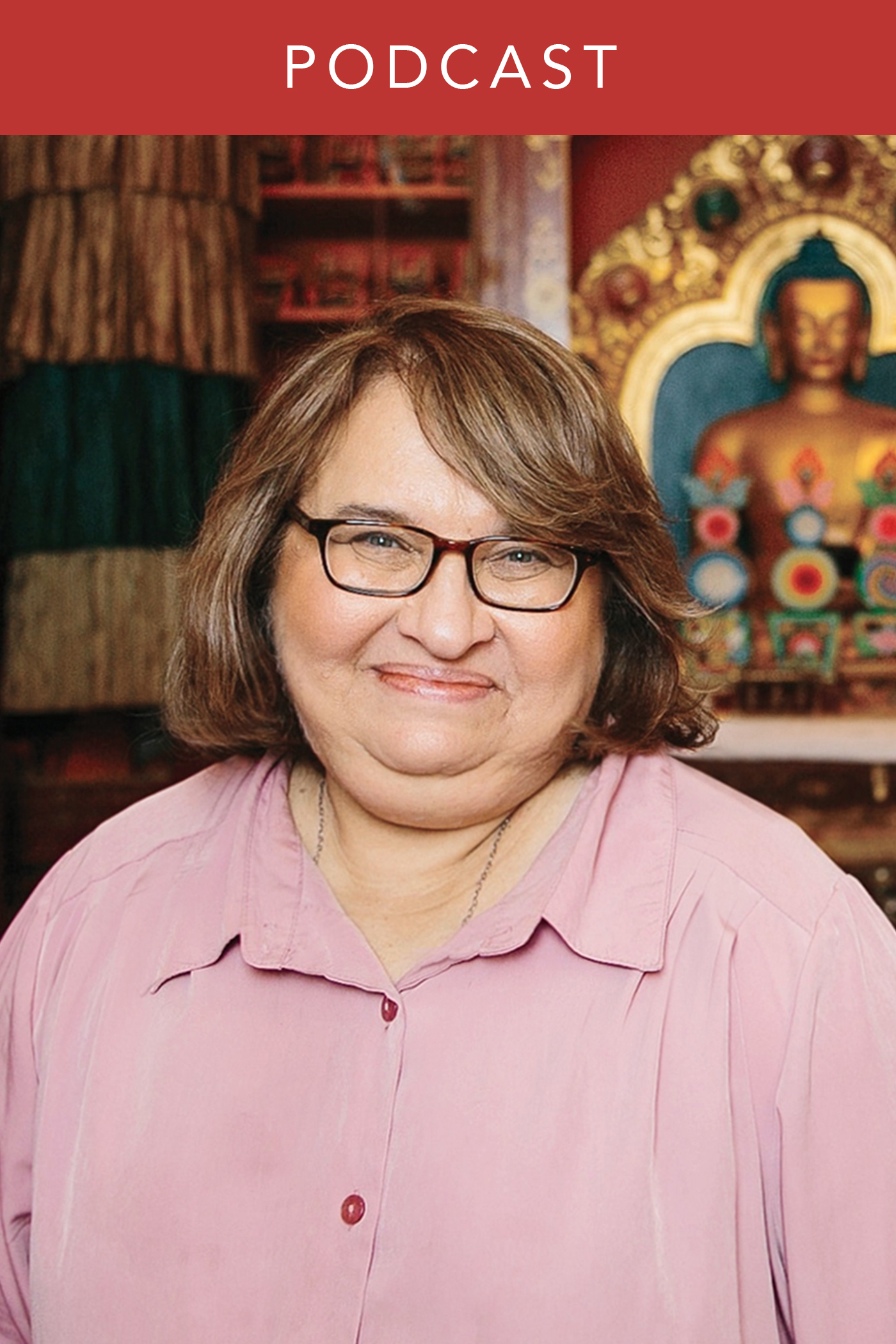head shot of Sharon Salzberg