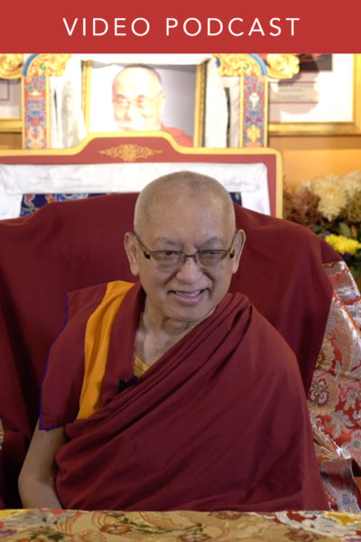 Lama Zopa Rinpoche on Foundations for the Flourishing of the Dharma in the West