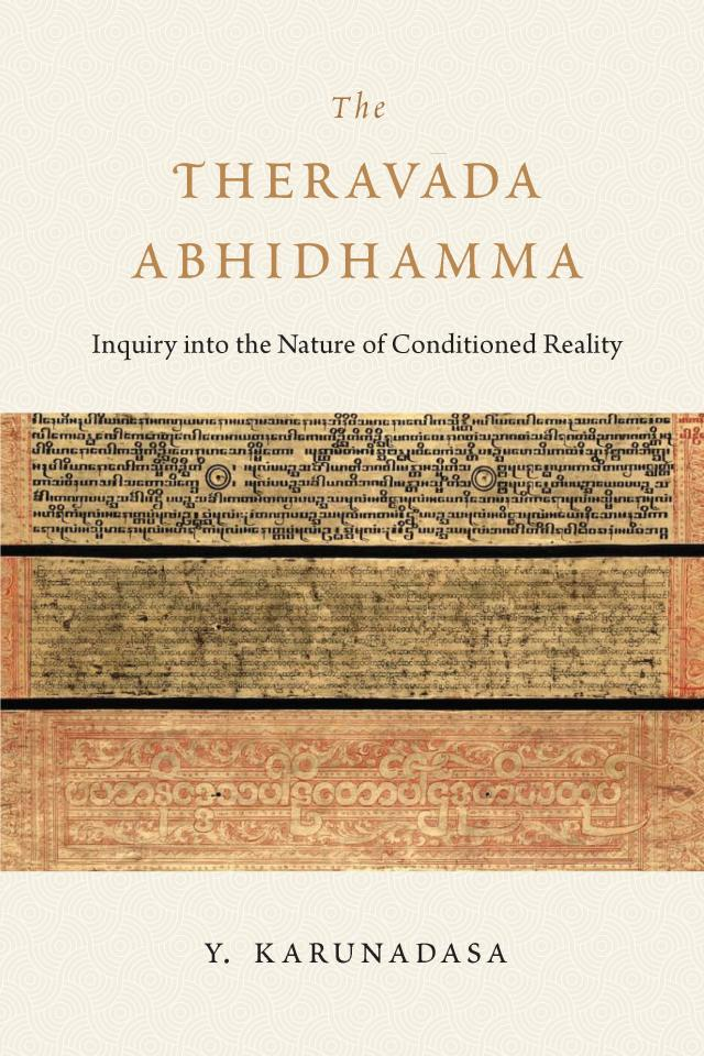 The Theravada Abhidhamma