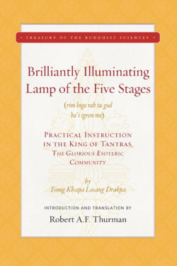 Brilliantly Illuminating Lamp of the Five Stages