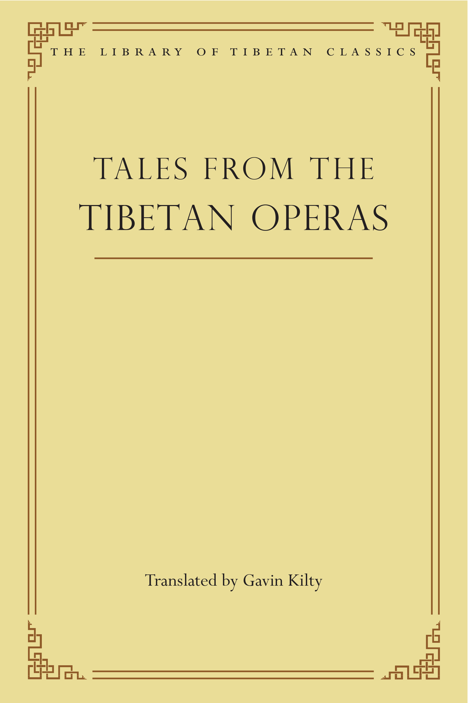 Tales from the Tibetan Operas