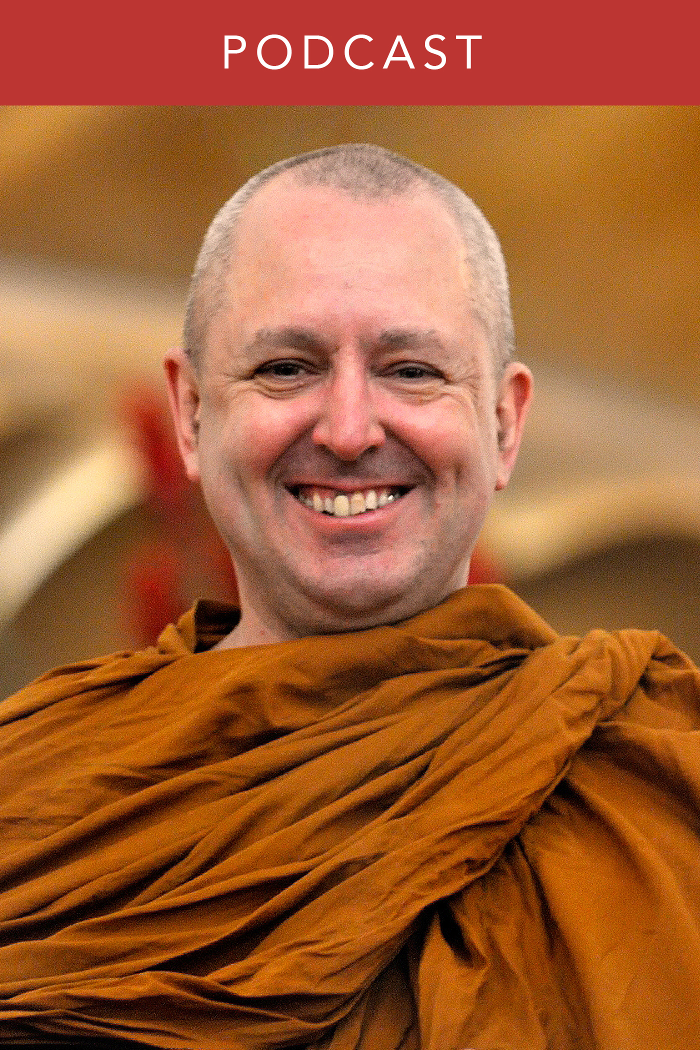 head shot of Ajahn Brahm