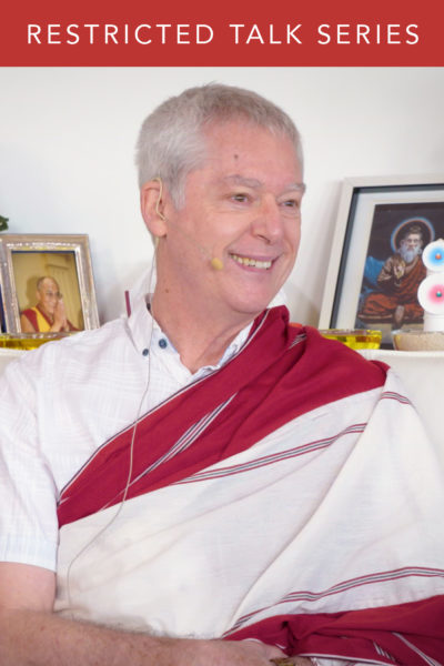 Restricted Dzogchen Talk Series: Talk 9