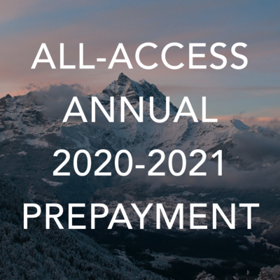 AA Annual 2020-2021 Pre-Payment
