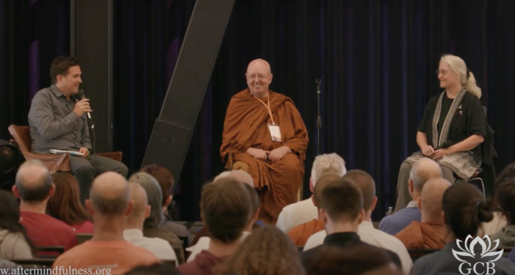 Interview with Ajahn Brahm and Shaila Catherine
