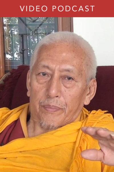 Michael Mendizza Interviews His Eminence Professor Samdhong Rinpoche
