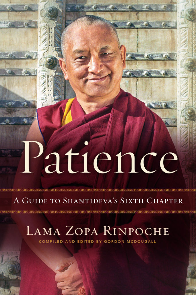 Patience by Lama Zopa Rinpoche cover