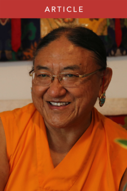 Encouragement from H.H. the Sakya Trichen for Faith on the Path