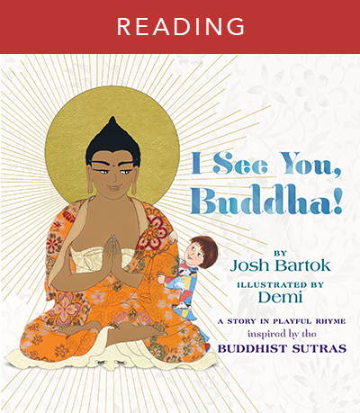 Listen to author Josh Bartok read I See You, Buddha