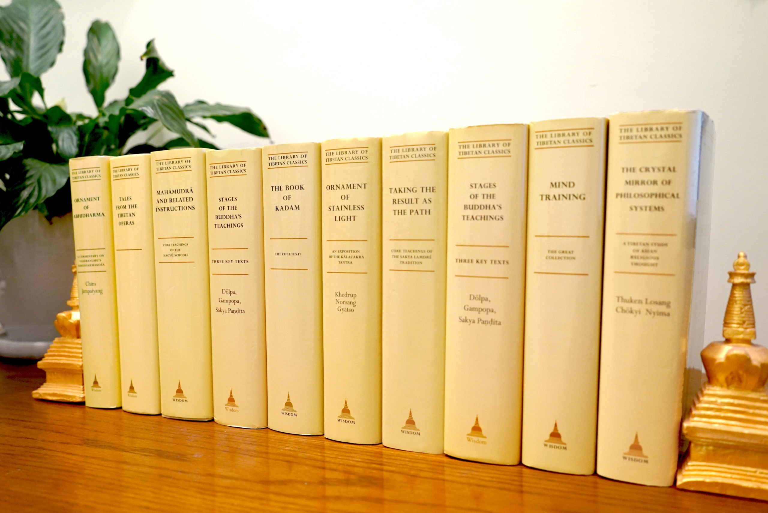 Books in the Library of Tibetan Classics series, a renowned translation series edited by Thupten Jinpa that preserves and celebrates Tibetan Buddhism and culture