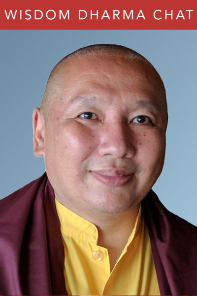 Wisdom Dharma Chats | His Eminence the 12th Zurmang Gharwang Rinpoche