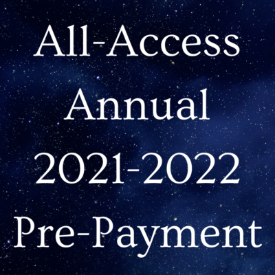 AA Annual 2021-2022 Pre-Payment