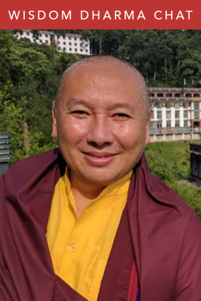 Wisdom Dharma Chats | H. E. Zurmang Gharwang Rinpoche Book Launch
