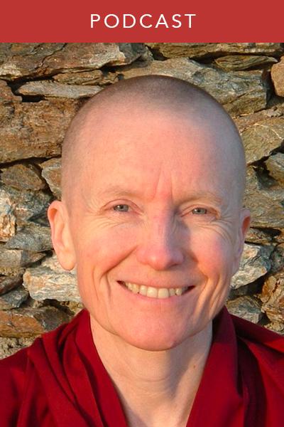 Sangye Khadro Kathleen McDonald Buddhism Podcast Wisdom interview