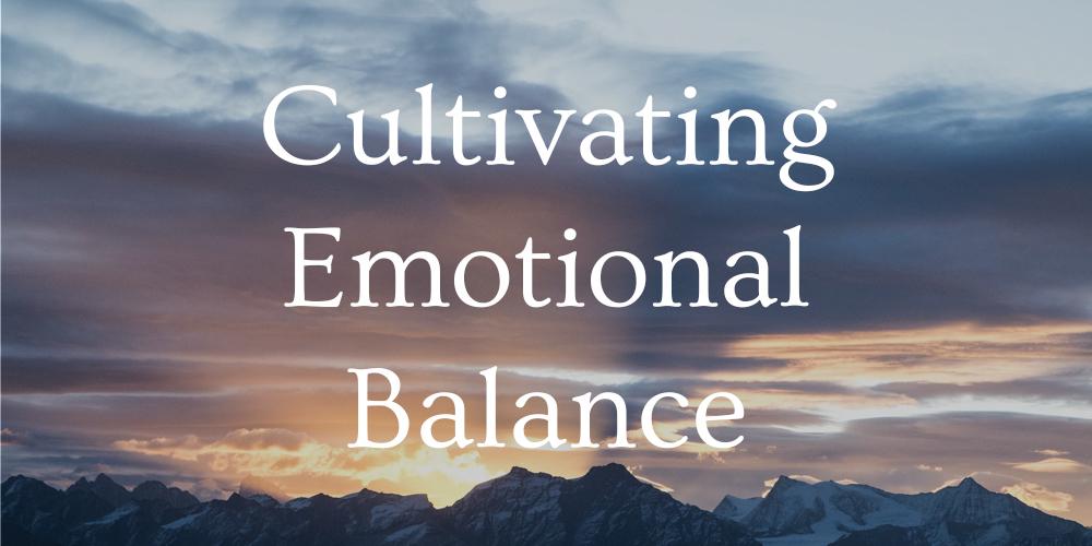 cultivating emotional balance ceb ekman