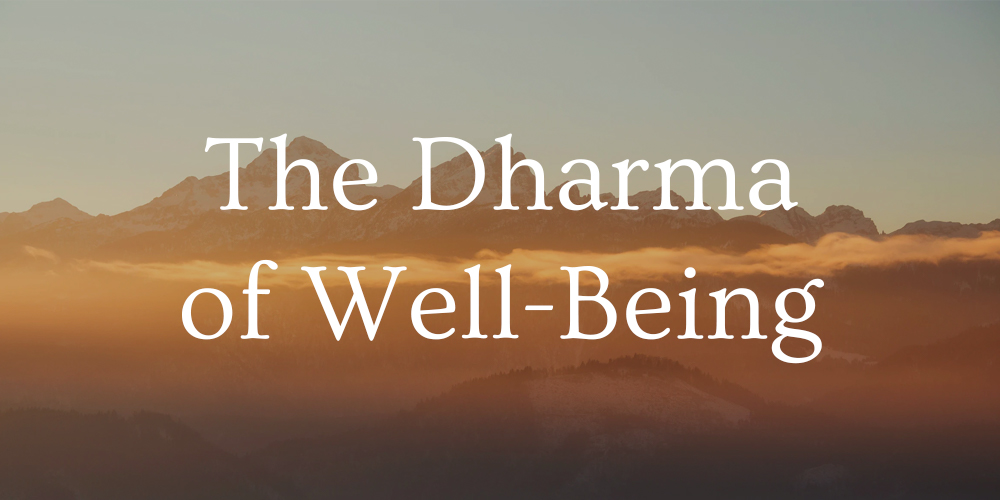 dharma of well-being