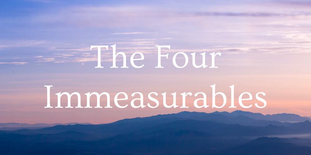 the four immeasurables course
