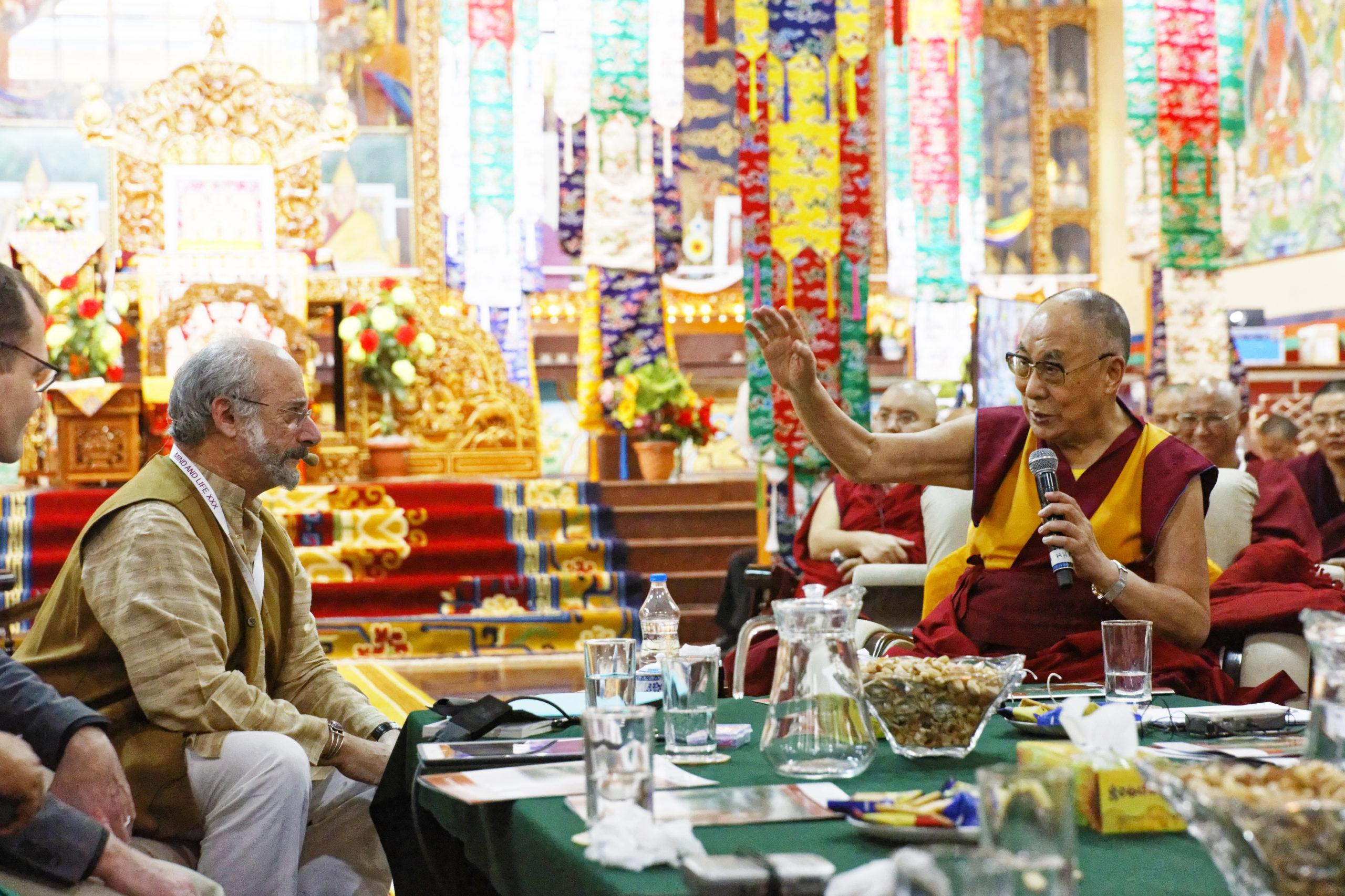 Dalai lama online course Buddhism science Wisdom Academy Mind & Life