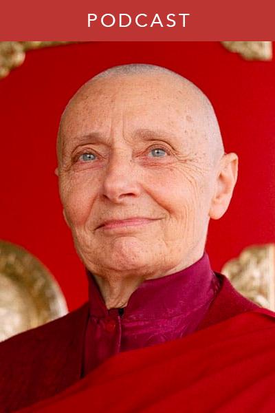 Tenzin Palmo interview Buddhism wisdom podcast women
